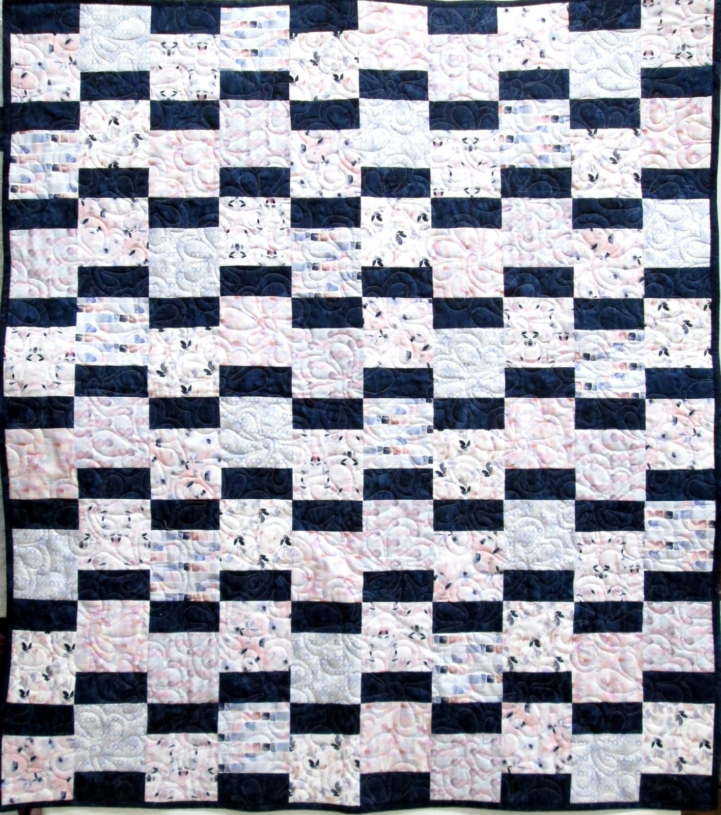 Intuition In A Minute Quilt Sample