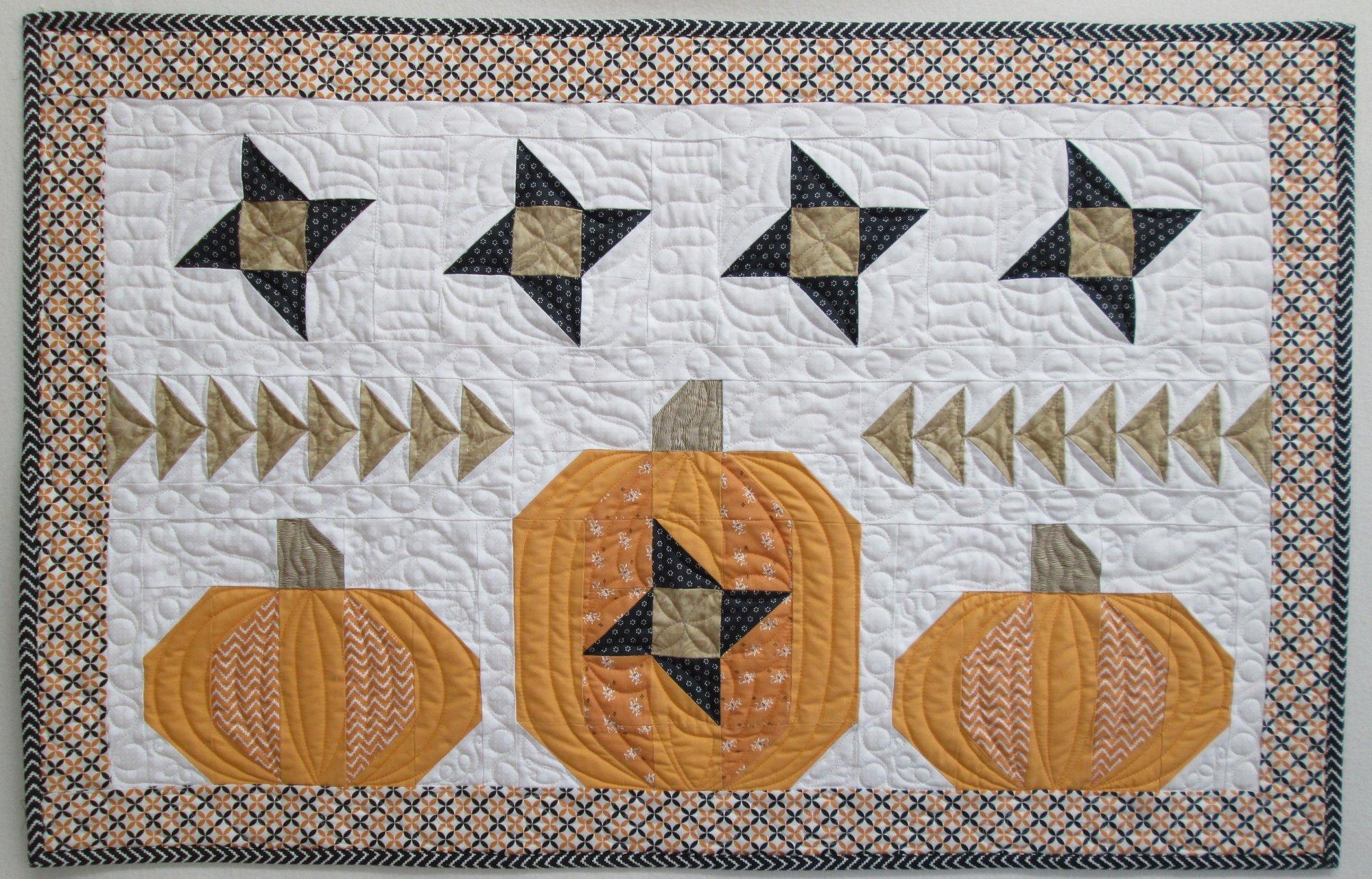 All Hallows Eve Pumpkin Sky Wall Hanging Kit