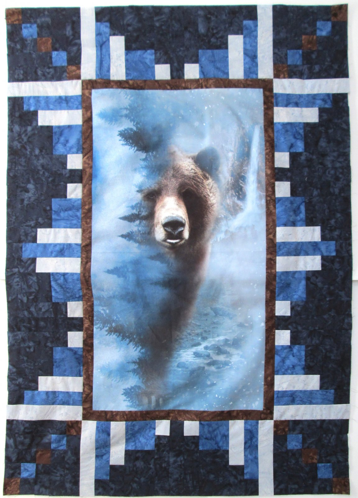 Call of the Wild Bear Panel Perfection Quilt Kit