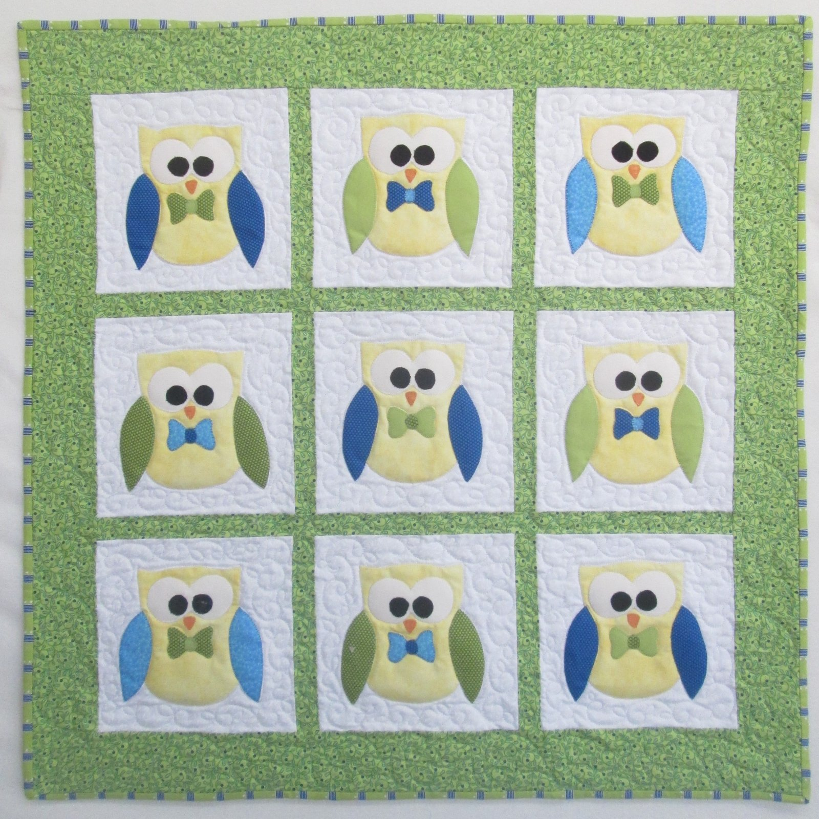 Bree Owliver Whoo-Ver Quilt Kit 32 1/2 Includes Binding