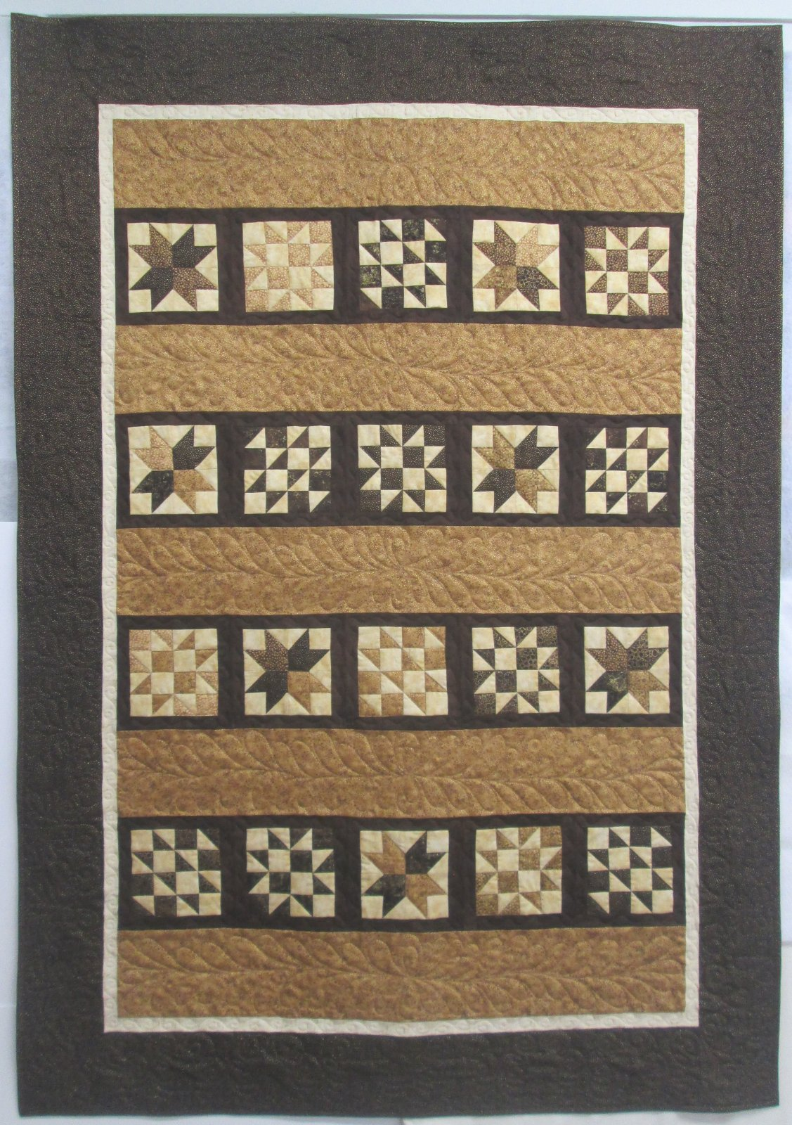 Artisan Spirit Shimmer Double Trouble Moda Cupcake Mix Quilt Kit 54.5 by 76.5 Includes Binding