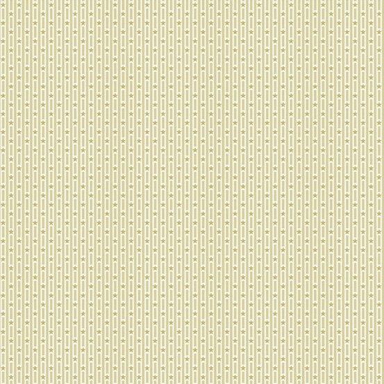Andover Allegiance 9607-N Cream Star Stripe
