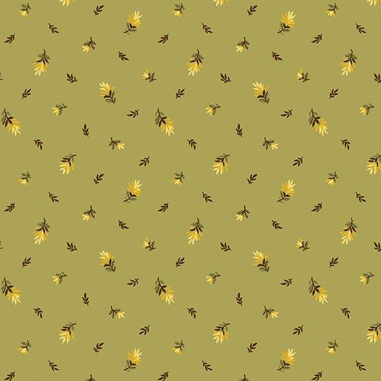 Andover Sunflower Field 9791-G Sunflower Buds on Green