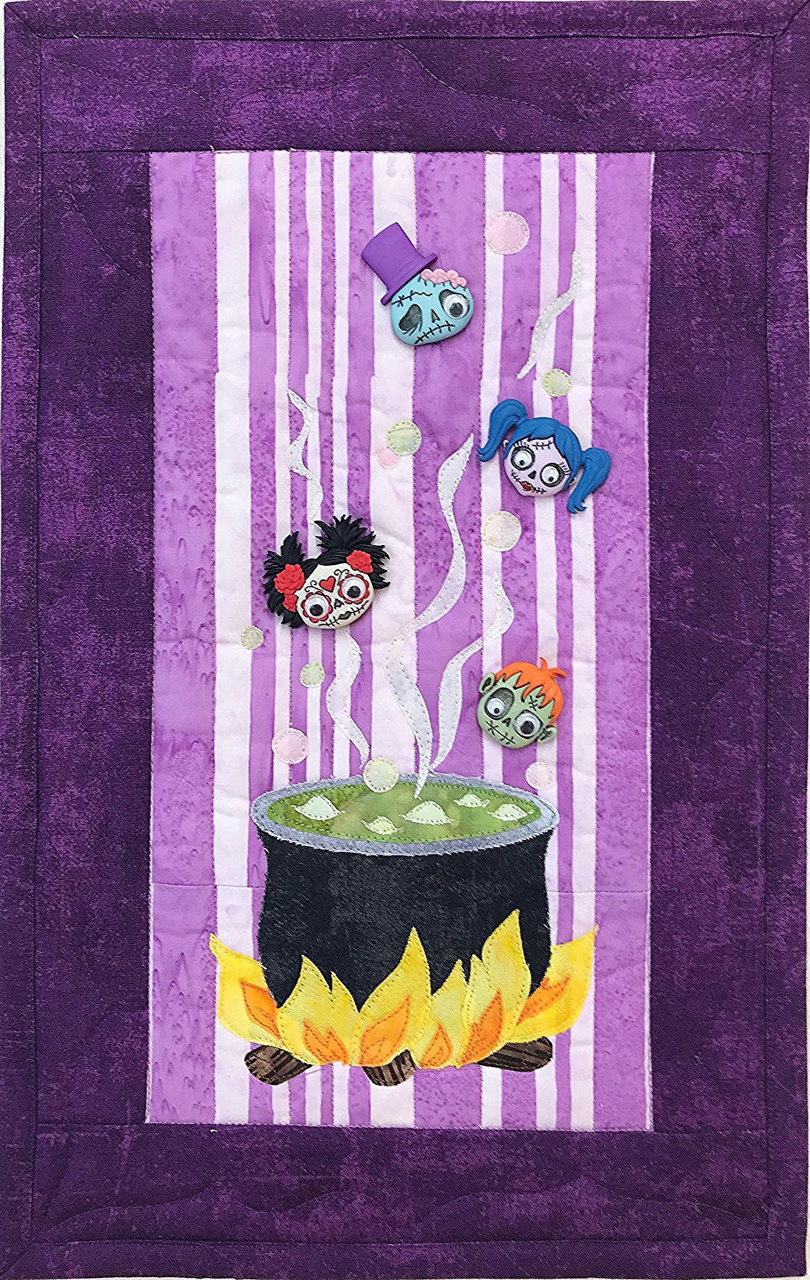 Zombie Potion Wall Hanging KIT by Theresa Cameron Originals