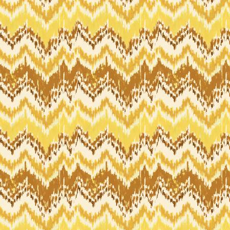 Wilmington Prints Sunshine 86380-555 Yellow Chevron