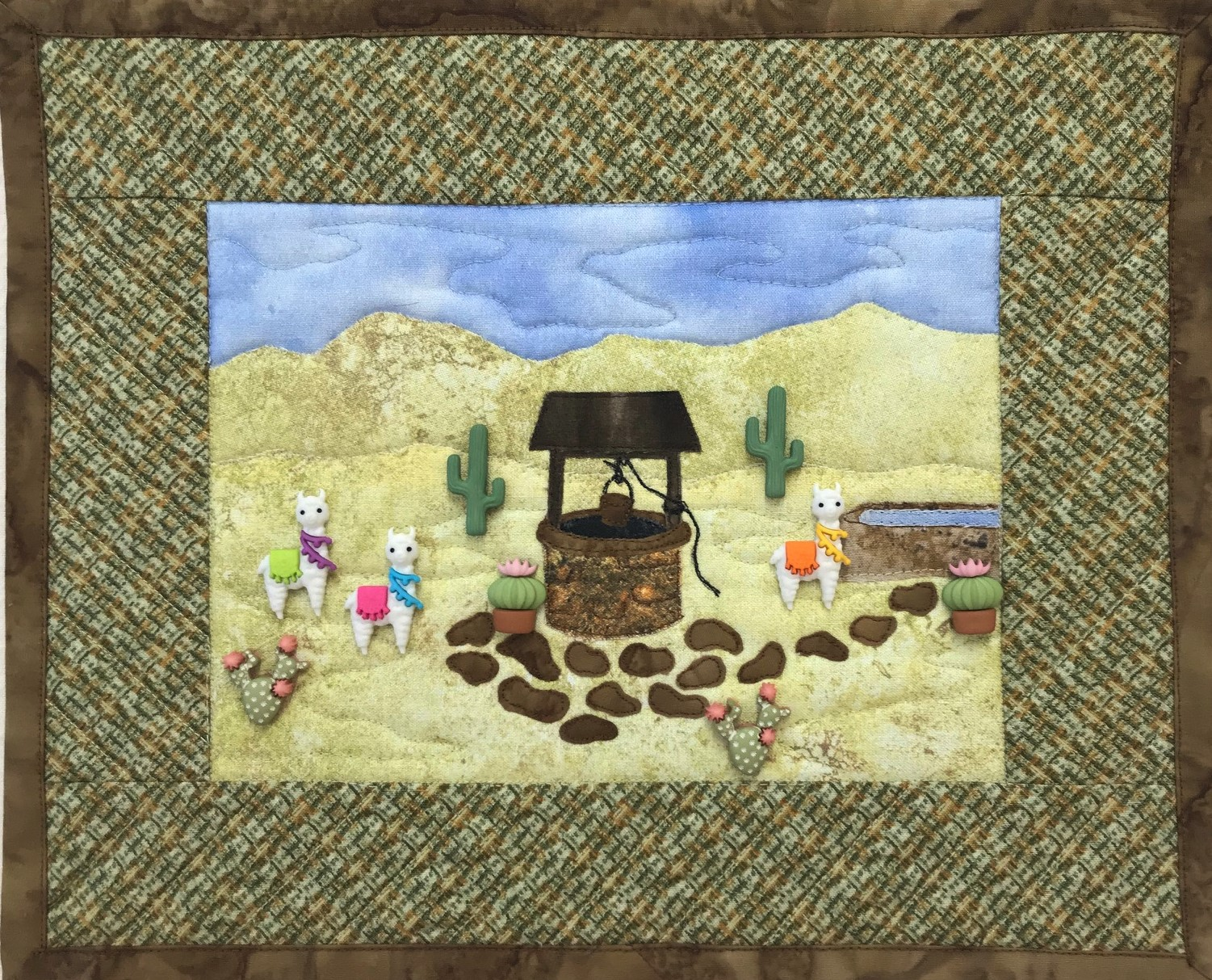 Lla' Well Gathering Kit with Buttons