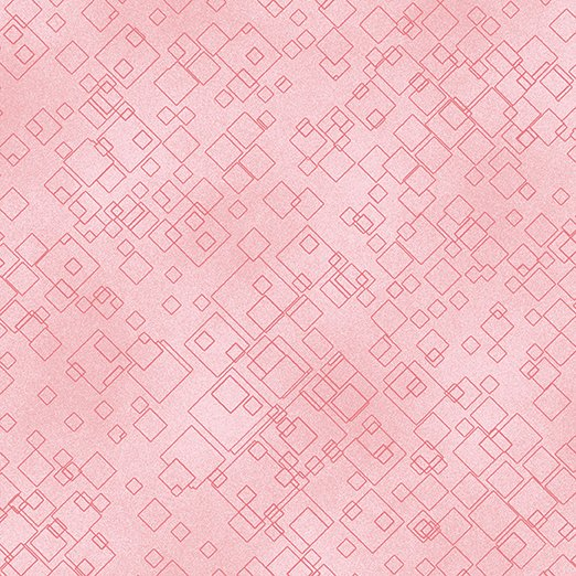 Benartex Cat-I-Tude 2 Purrfect Together 7549-01 Light Pink Tonal Squares