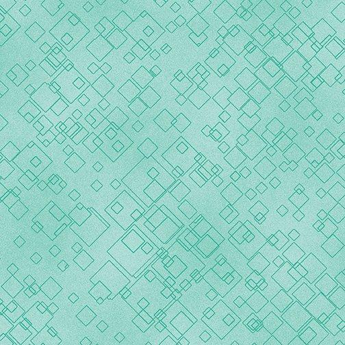 Benartex Cat-I-Tude 2 Purrfect Together 7549-04 Light Green Tonal Squares