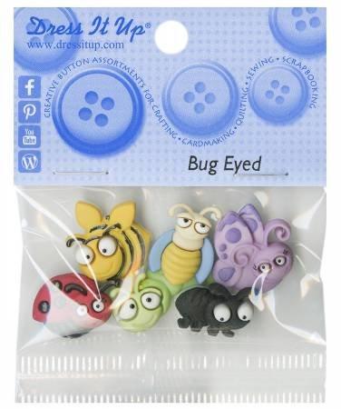 Dress It Up Bug Eyed 6 buttons JBT6551