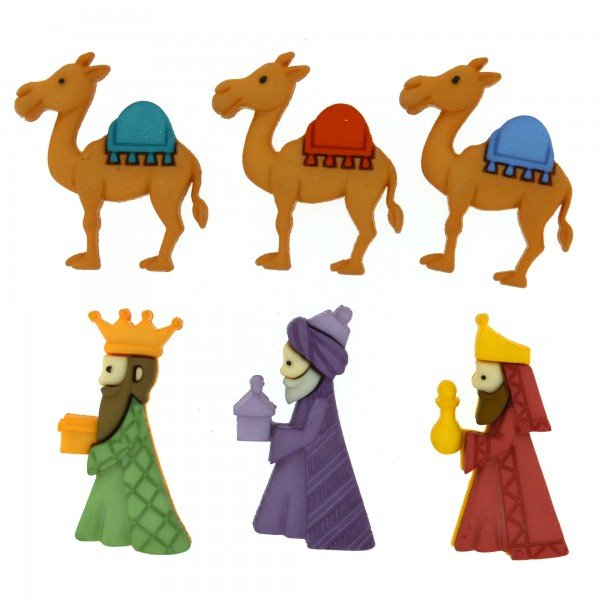 Dress It Up We Three Kings 8048