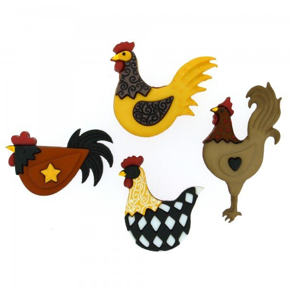 Dress It Up Hen House 4 pieces 8295