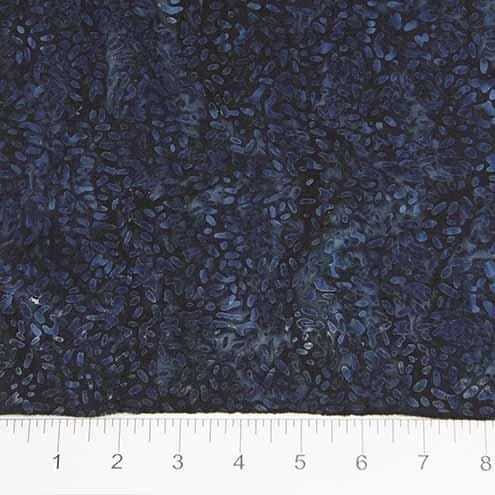 Northcott Banyan Batik Ketan 81000-649 Navy Seeds