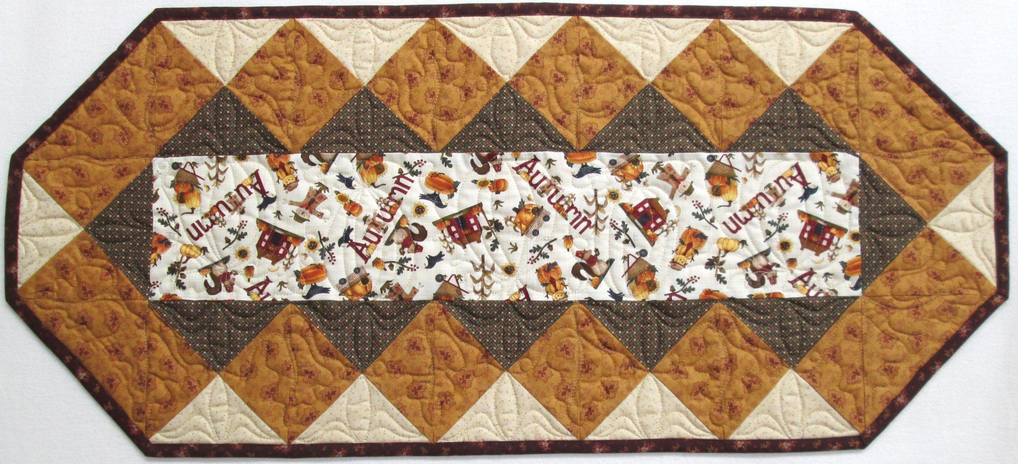 Buttermilk Autumn Fabulous Strip Table Runner Kit