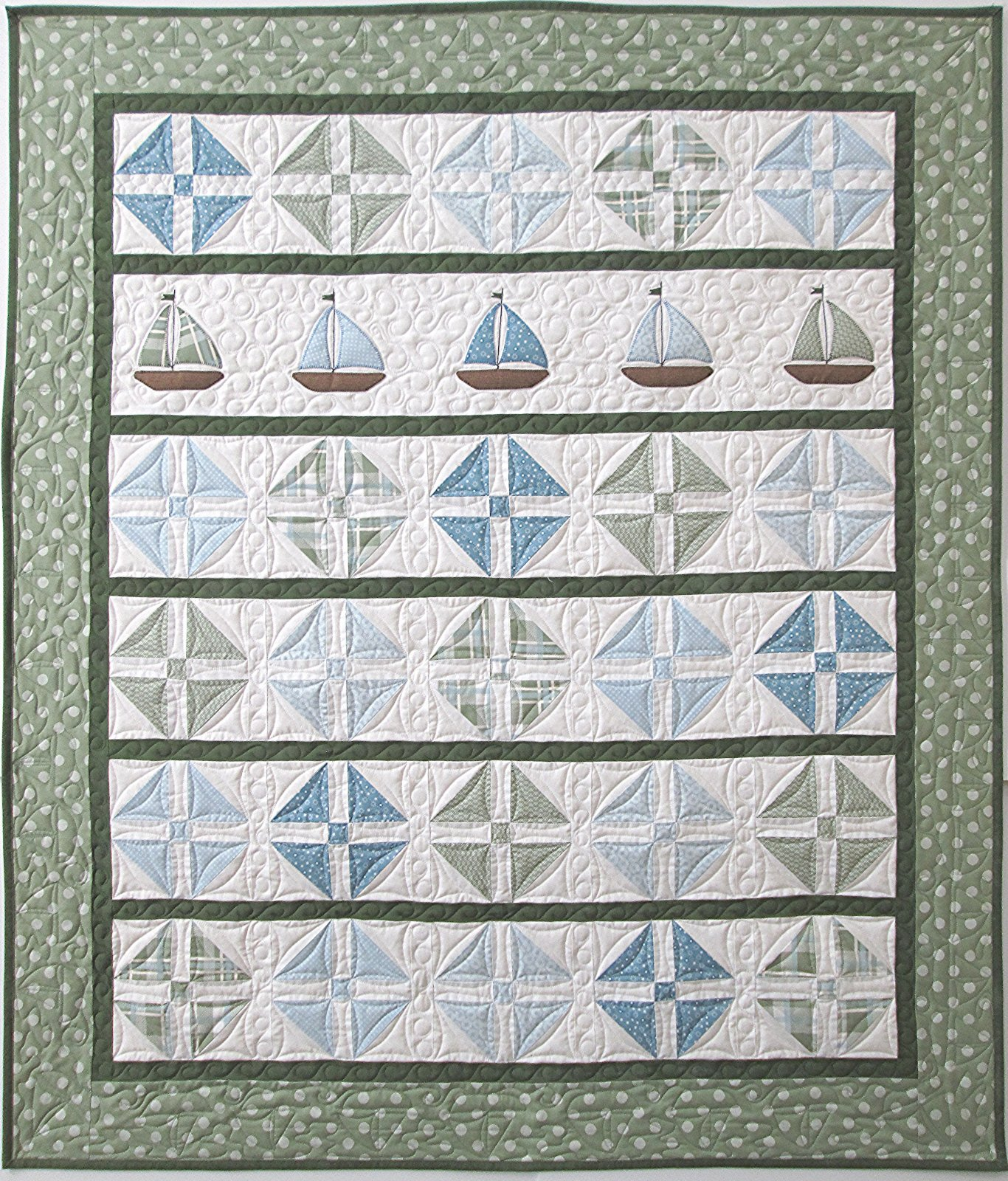 Sleepy Sails Quilt Kit