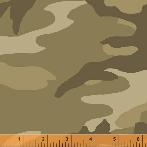 Windham The Great Outdoors 36383A-3 Tan Camo