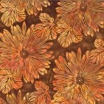 Hoffman Bali Batik R2249-154 Big Tropical Teak