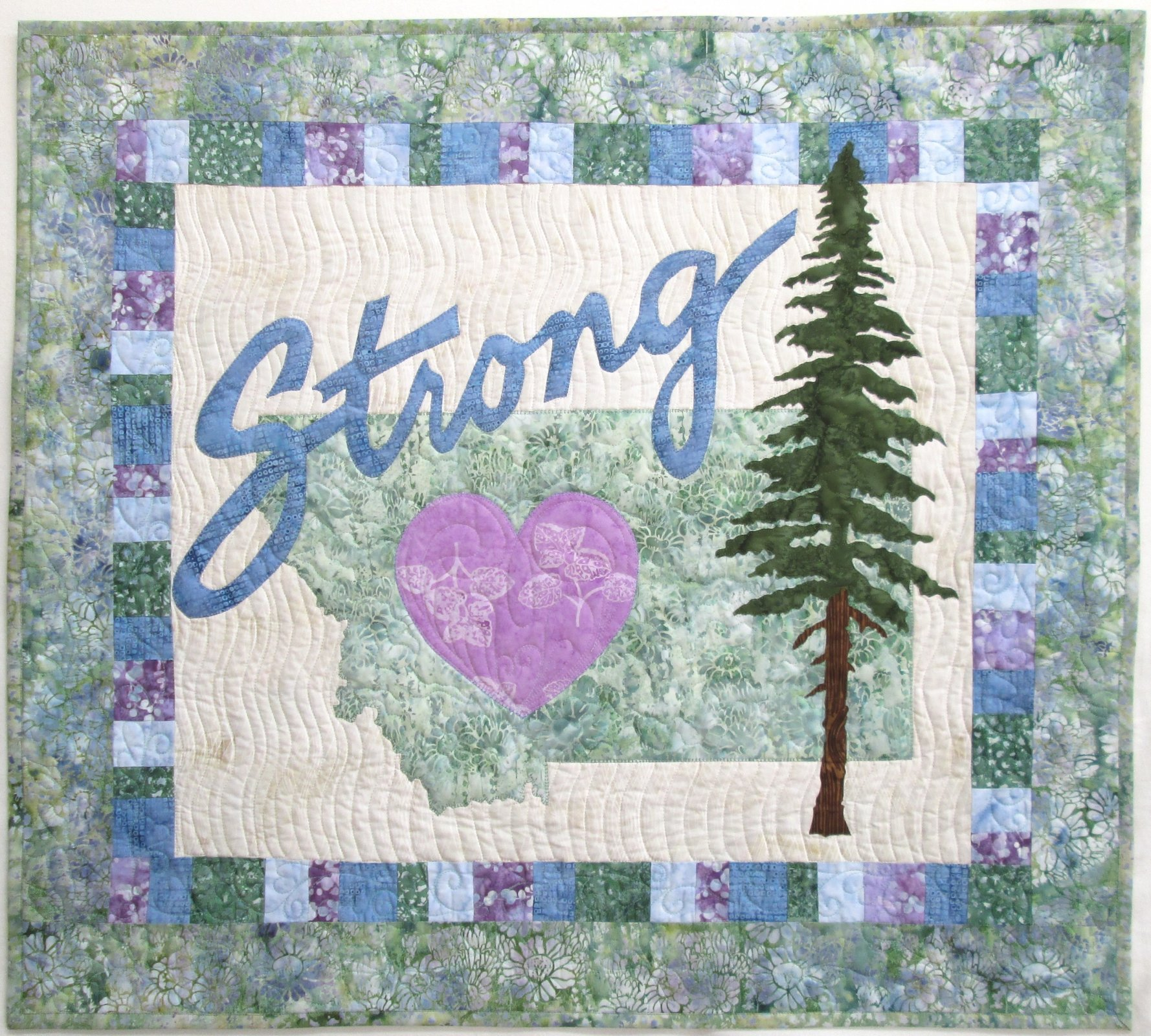 Montana Strong Wall Hanging Sample