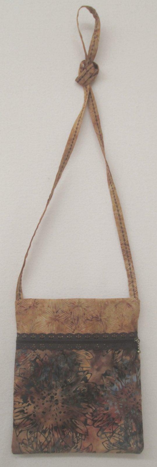 Hoffman Batik Runaround Bag 7x9 by Lazy Girl Designs