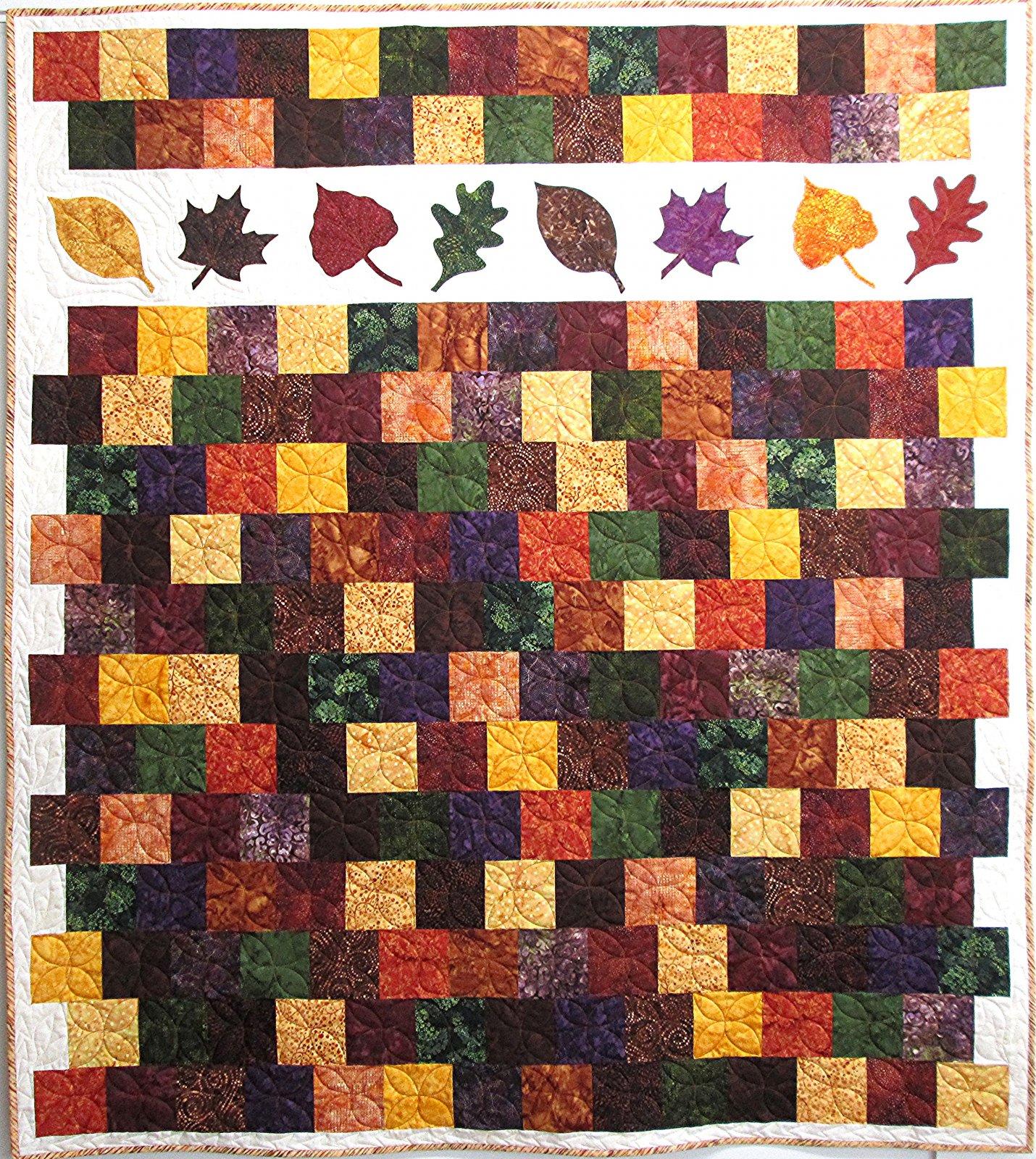 Batik Autumn Charm Quilt Kit