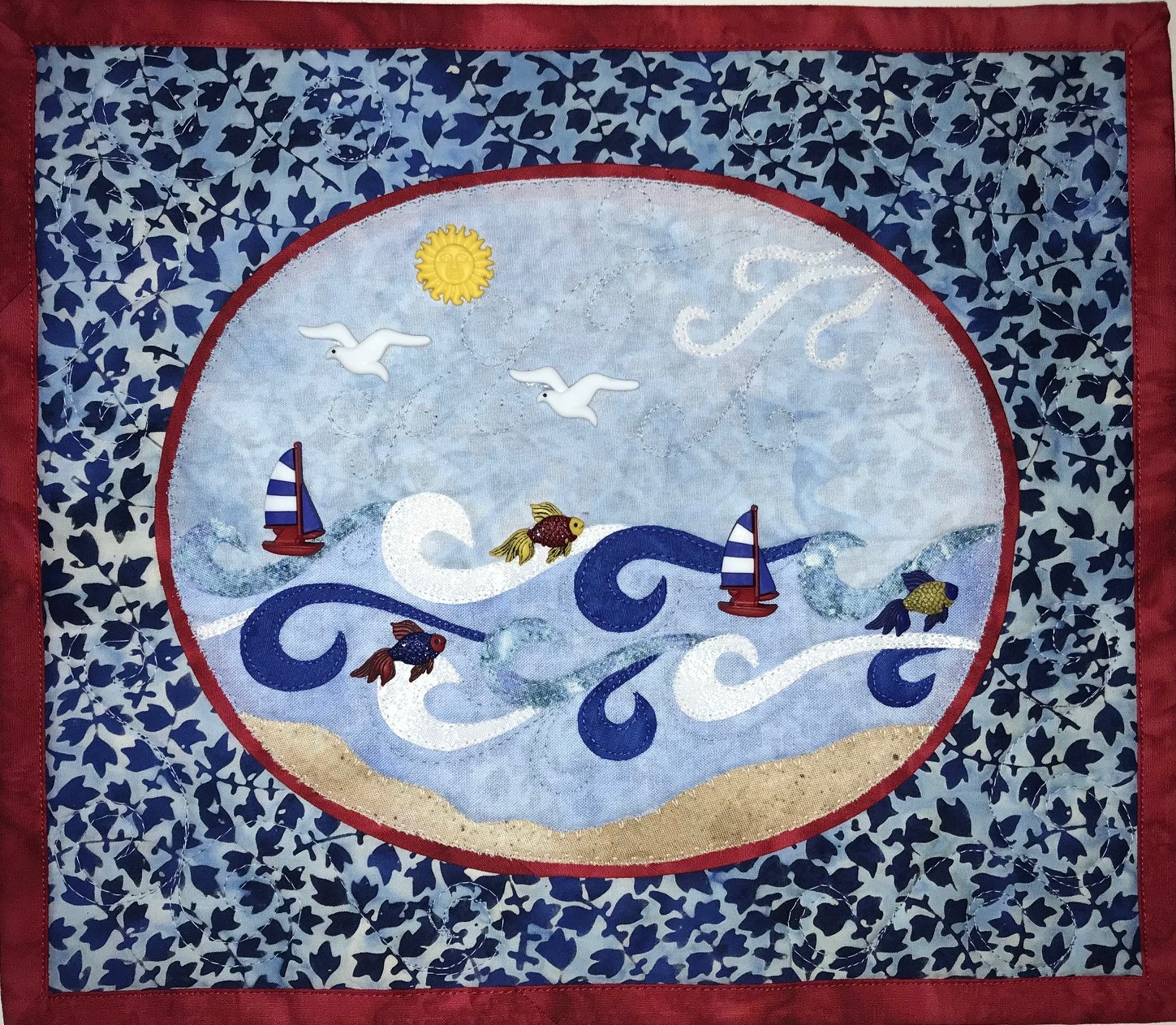 Come Sail With Me Wall Hanging Kit