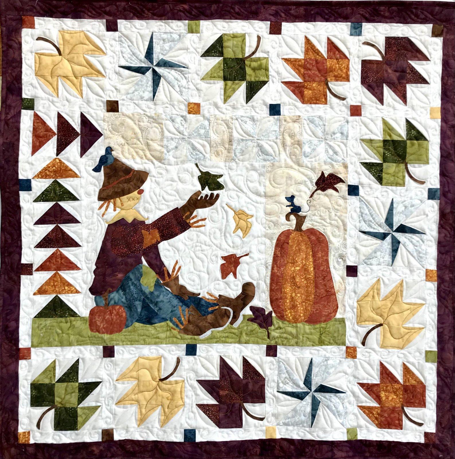 Batik Autumn Breeze Wall Hanging Kit
