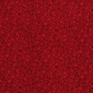 RJR Hopscotch 3220-3 Red Tonal Small Floral By Jamie Fingal