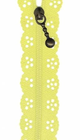 Border Creek Station Big Lacie Zipper 12  Yellow