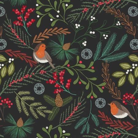 Lewis & Irene New Forest C58-3 Black Robin