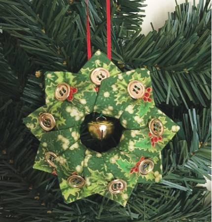 Cut Loose Press Holiday Tree Wreath Ornament Pattern