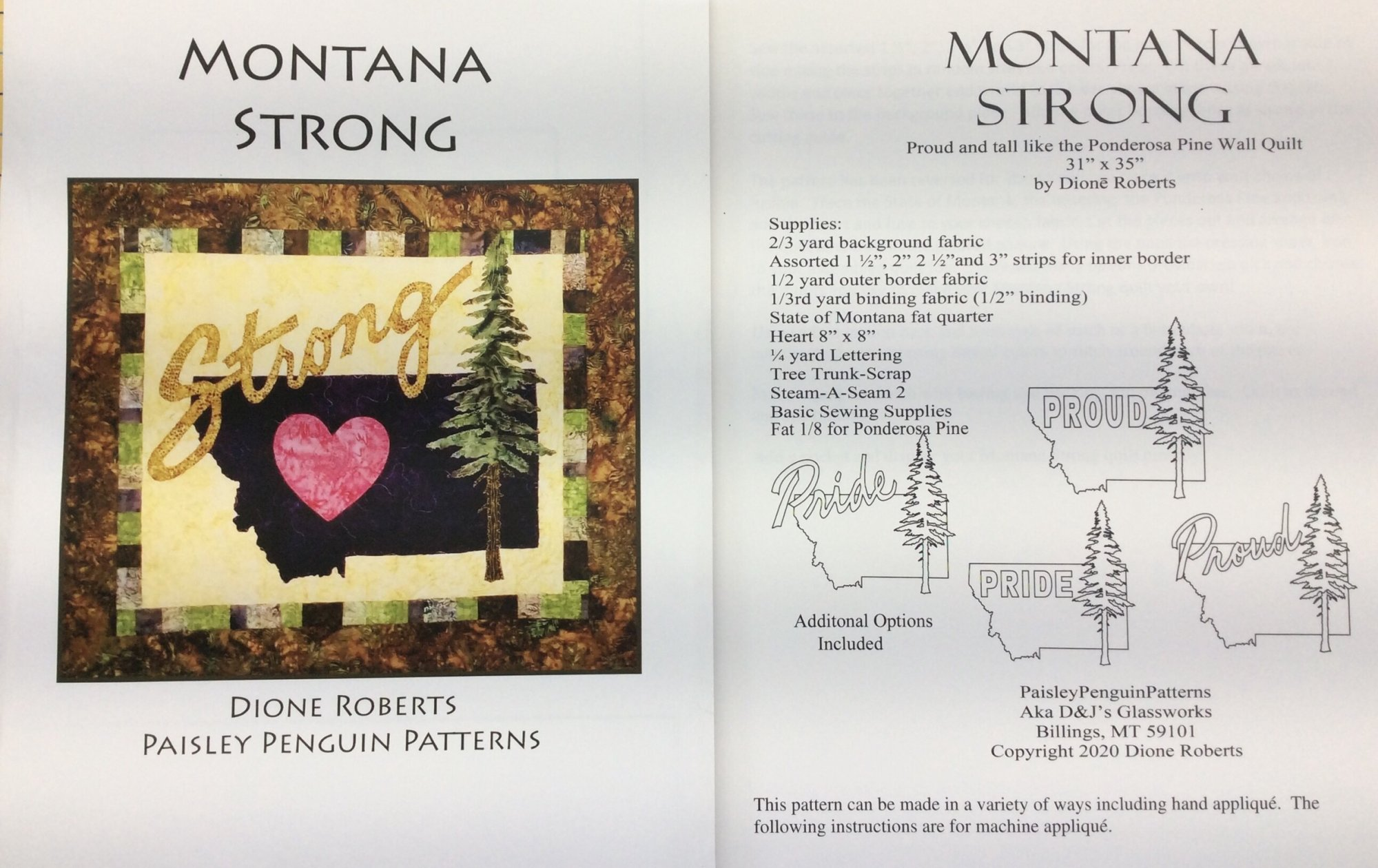Paisley Penguin Patterns Montana Strong