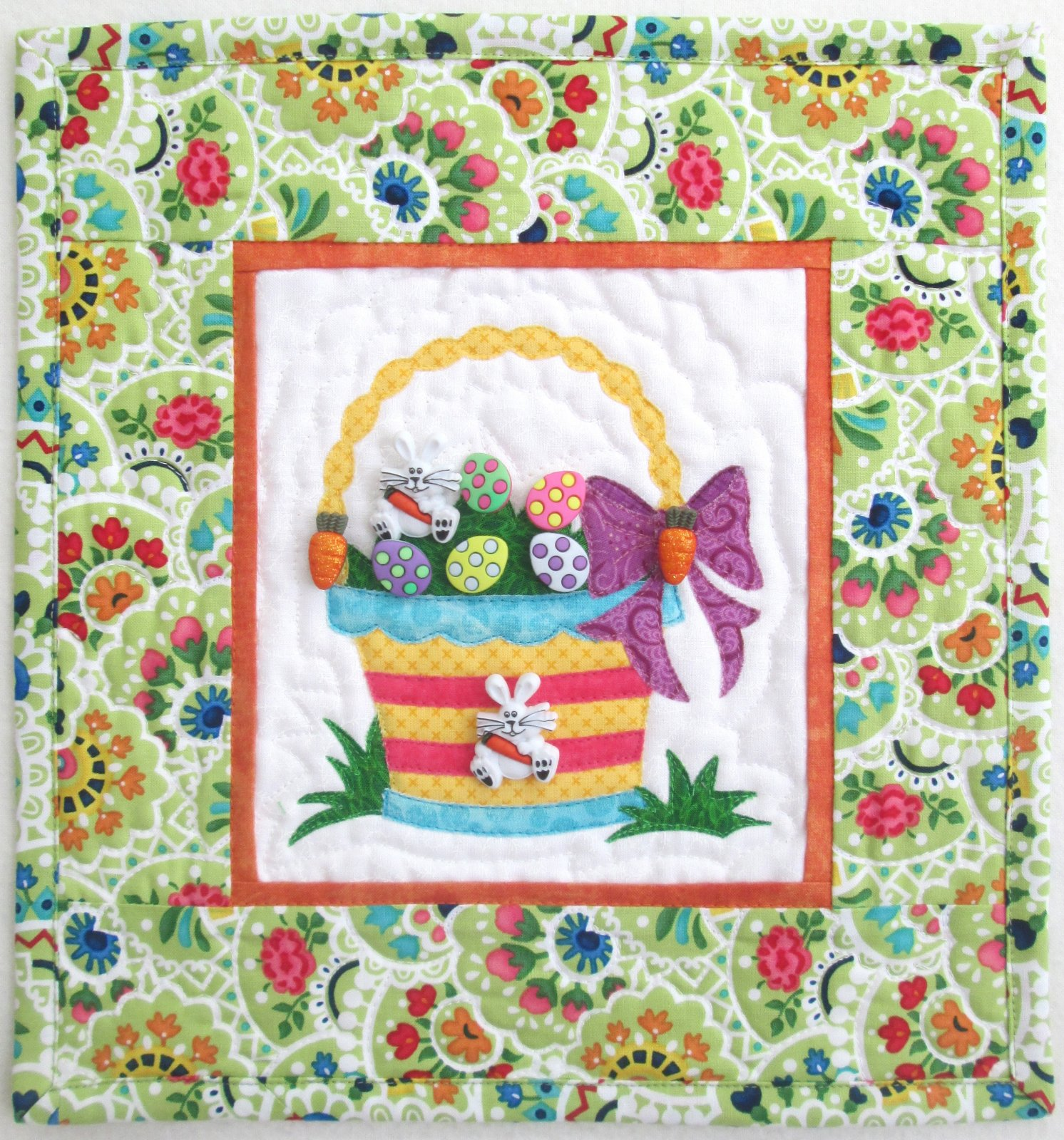 Easter Basket Surprise Wall Hanging Kit