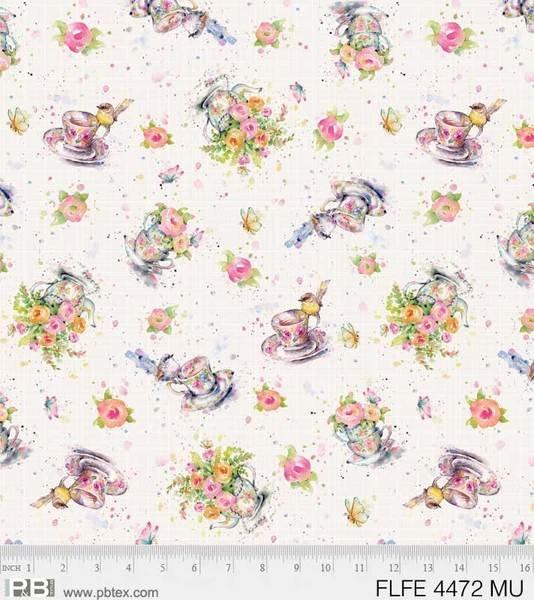 P&B Flowers & Feathers 4472-MU Teacups