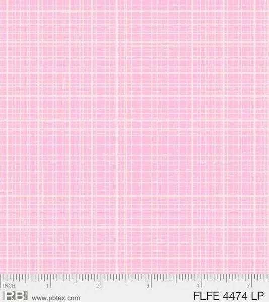 P&B Flowers & Feathers 4474-LP Linen Light Pink