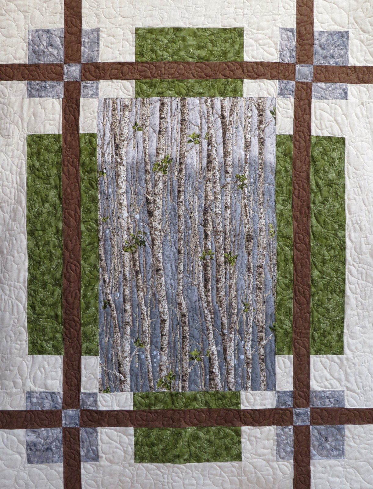 Nature's Window Craftsman Quilt or Wall Hanging Sample
