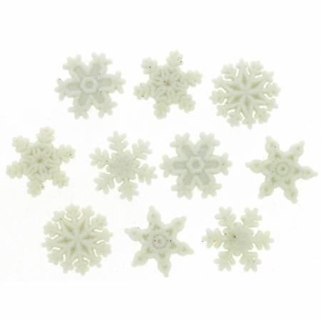 Dress It Up Glitter Snowflakes