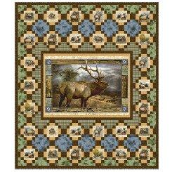 Wild Elk Quilt Kit (Lap Size)