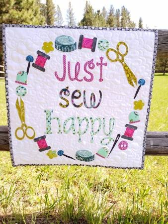 Just Sew Happy Laser Cut Kit by Laser Cut Quilts
