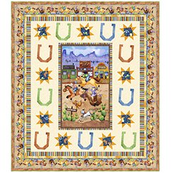 Horsin' Around QUILT KIT