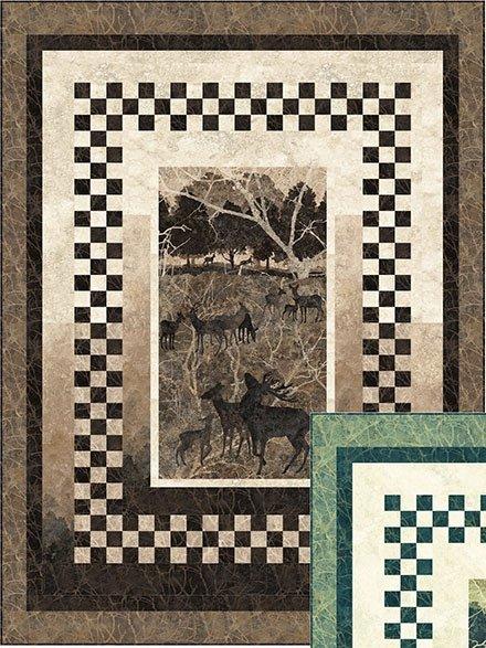 Deerhurst Sew Deer Quilt Kit 60 x 80