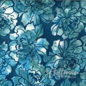 Hoffman Bali Batik Q2107-341 Graphic Floral Wade Archives