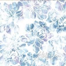 Hoffman Bali Batik Q2107-541 Graphic Floral Peace