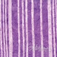 Hoffman Bali Batik Q2211-474 Stripe Punch Purple