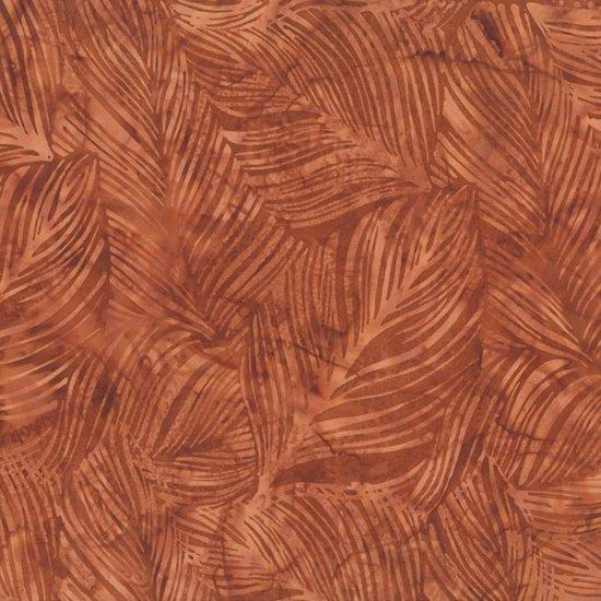 Hoffman Bali Batik Q2138-100 Adobe Leaves