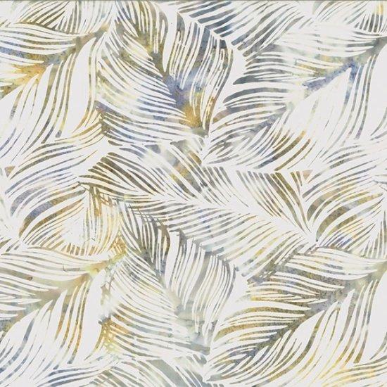 Hoffman Bali Batik Q2138-467 Seacliff Leaves