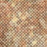 Hoffman Bali Batik Q2146-36 Amber Circles & Squares
