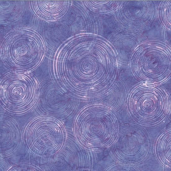 Hoffman Bali Batik Q2148-558 Lupine Circles