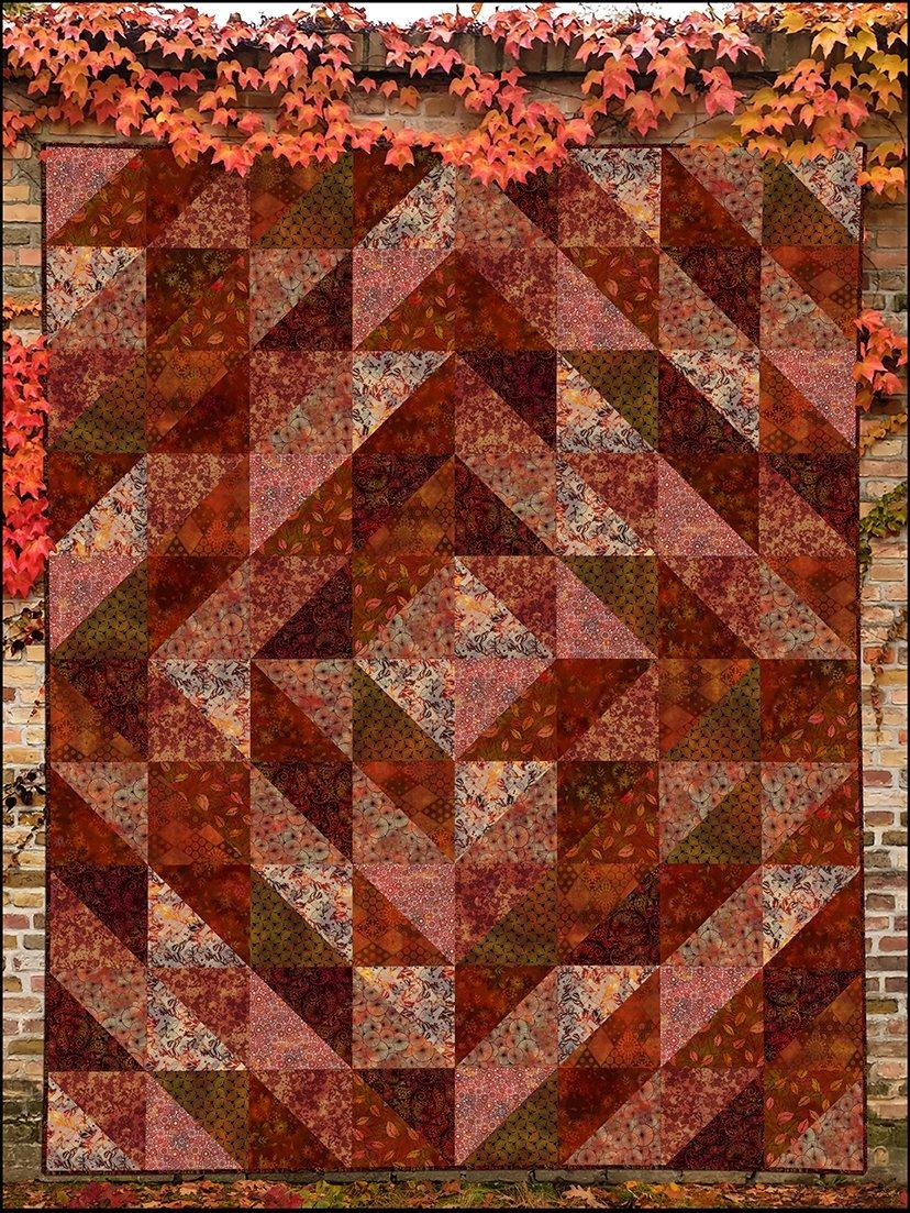 Seasons Quilt Pattern by Jason Yenter