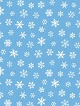 Susybee Gwyn The Penguin Snowflakes SB20239-950 Blue with snowflakes