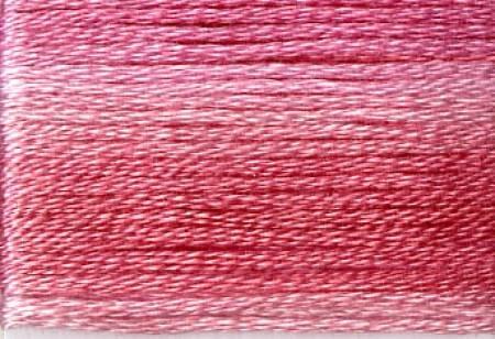 Seasons Embroidery Thread SE80-8008 DK PINK VARIEGATED