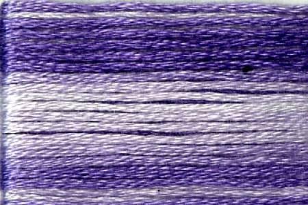 Seasons Embroidery Thread SE80-8067 PURPLE VARIEGATED